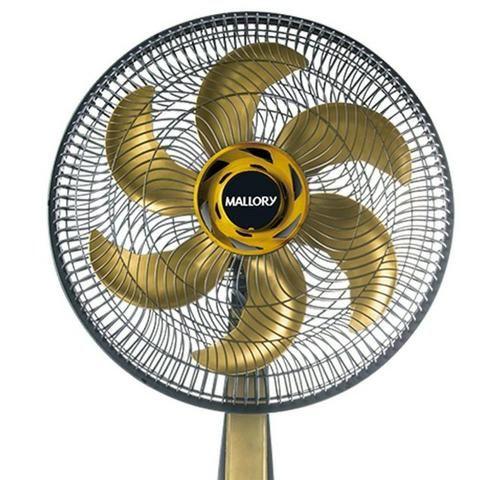 Imperdivel * Ventilador TS40 Preto com Dourado - Foto 2