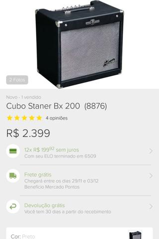 Vendo cubo profissional staner bx200 stage dragon
