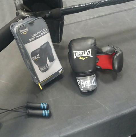 Luvas Everlast MMA Pro Style - Nova - Esportes e ginástica - Barra ... 7584571fdafe4