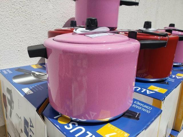 Panela de pressão 7 litros em promoção - Foto 3