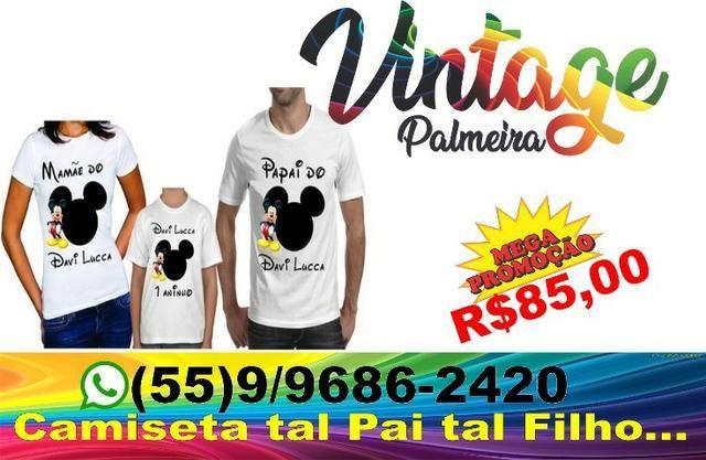 aaa8da17aae3c Camiseta tal pai tal filho - Roupas e calçados - Palmeira das ...