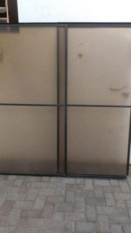 Box Aluminio com acrilico