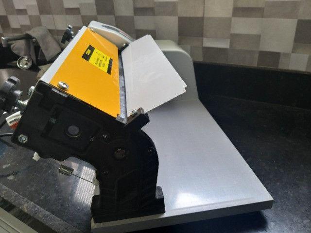 Laminador de Massas Elétrico Stang Anodilar de 37cm com cortador - Seminovo - Foto 3