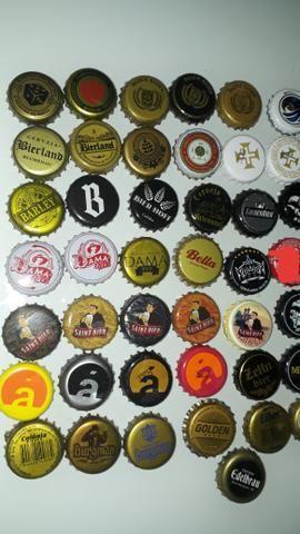 Lote tampinha cervejas regionais - Foto 2