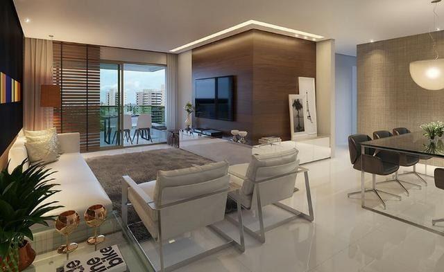 FG*Apartamento 4Qts alto padrão-135M² 3suítes-Ilha do Retiro -Varanda Gourmet - Foto 4