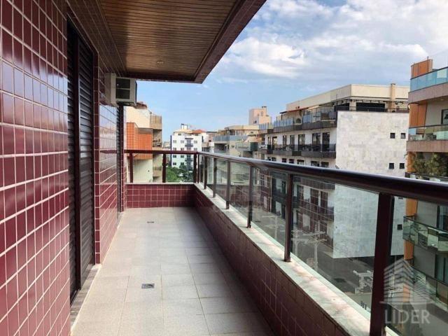 Cobertura com 4 dormitórios à venda, 260 m² por R$ 1.550.000 - Passagem - Cabo Frio/RJ - Foto 4