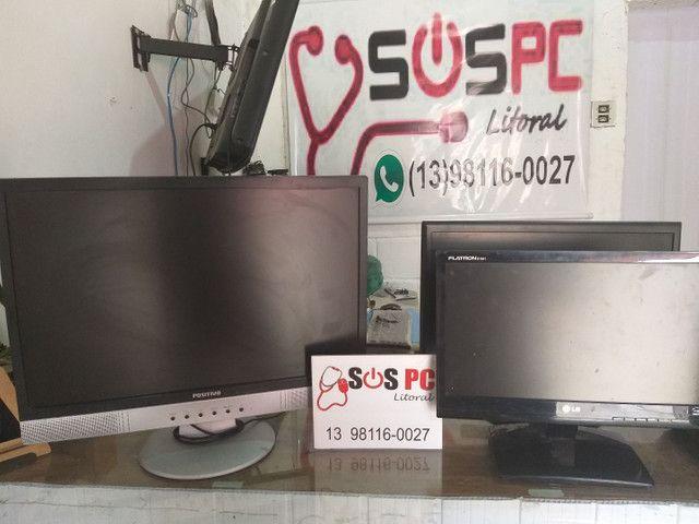 Monitores de PC 15 a 22pol (Leia a descrição)