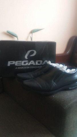 Sapato Pegada Original, Tamanho 39/40, Na loja esta R$190,00
