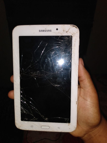 Tablet tricado a tela o resto tá funcionando