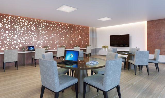 FG*Apartamento 4Qts alto padrão-135M² 3suítes-Ilha do Retiro -Varanda Gourmet - Foto 13