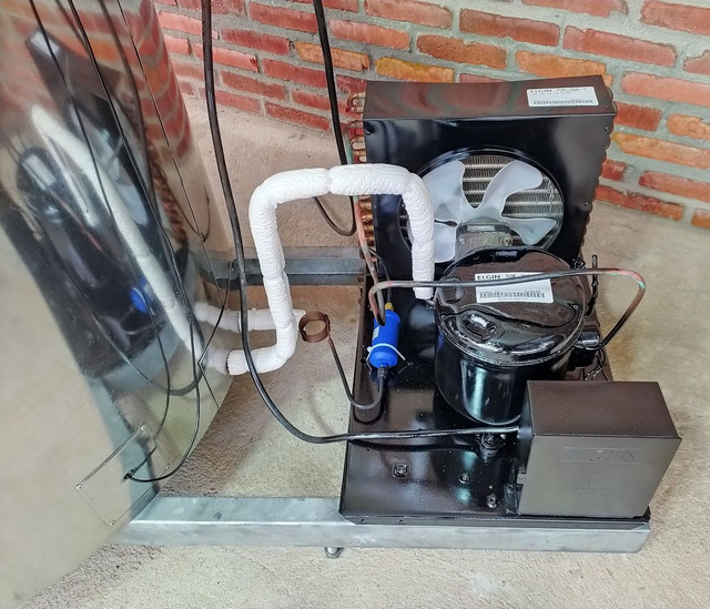 Resfriador Agranel Inox 400 Litros Semi Novo - Foto 3