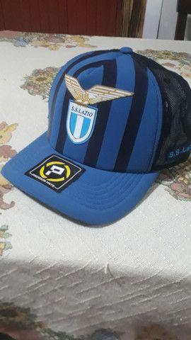 Boné da Lazio.