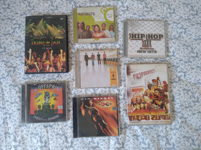 CD's e DVDs diversos