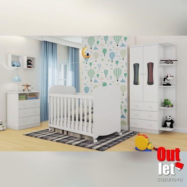 Promoção - Móveis Quarto Infantil Completo NOVO