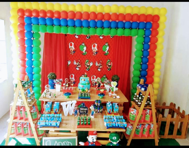 Alug0 kit festa em pallet pegue e monte - Foto 8