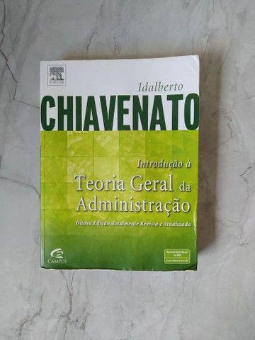 """Livro """"Teoria geral da Administração"""""""
