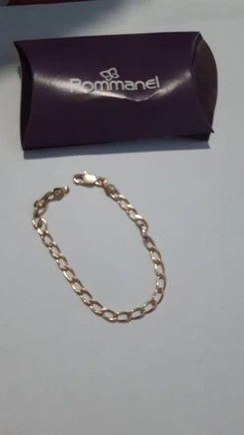 Vendo cordão c/ pingente e pulseira romanel - Foto 3
