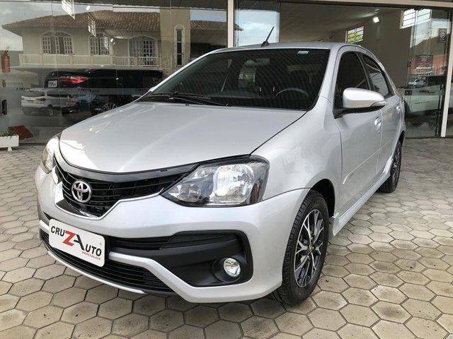 Toyota Etios Platinum Sedan 1.5 Flex 2019 Automático (Top - Na Garantia) - Foto 2