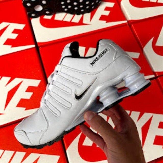 Tênis Masculino Shox 4 Molas da Nike - Frete Grátis Para todo o Brasil!