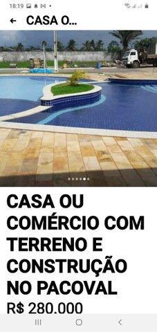 TERRENO COM CONSTRUÇÃO PROJETOS ETC - Foto 5