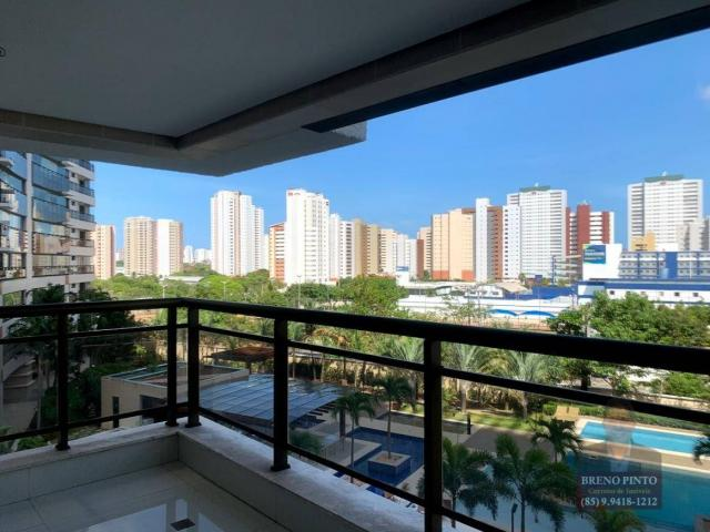 Apartamento no Cosmopolitan com 4 dormitórios à venda, 259 m² por R$ 2.650.000 - Guararape - Foto 3