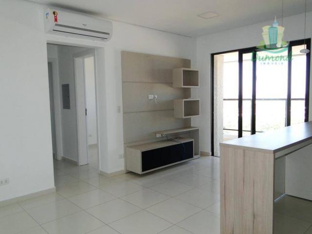 Apartamento com 2 dormitórios para alugar, 98 m² por R$ 2.000,00/mês - Conjunto A - Foz do - Foto 2