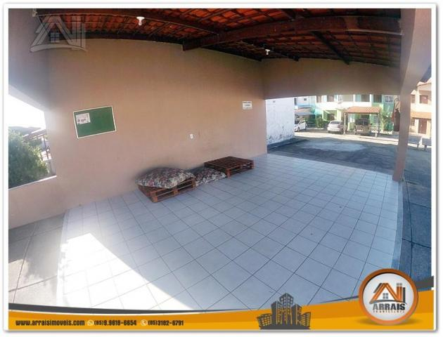 Casa com 2 dormitórios para alugar, 63 m² por R$ 800,00/mês - Maraponga - Fortaleza/CE - Foto 2