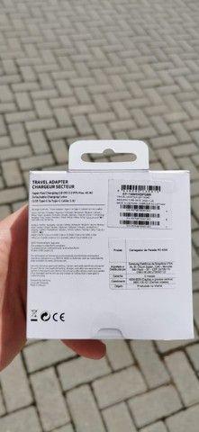 Fonte e cabo Samsung 100% original lacrado!!! - Foto 3