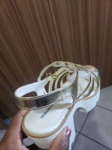 Sandália doramila tamanho 39 - Foto 5