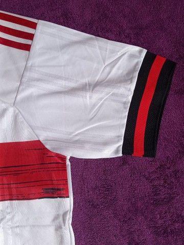 Camisa Do Flamengo branca (disponível: GG) - Foto 3