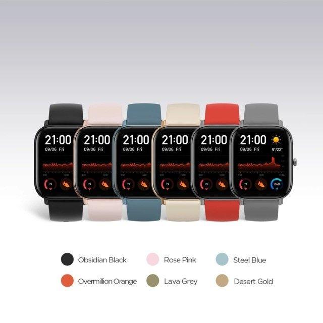Relógio Smartwatch Xiaomi Amazfit Gts A1914 Lava Gray