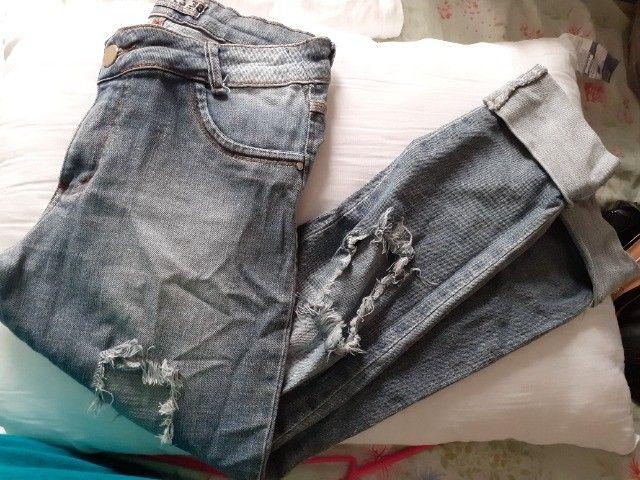 Calça Jeans Semi Nova - Foto 5