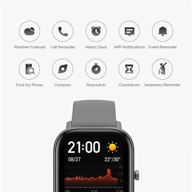 Relógio Smartwatch Xiaomi Amazfit Gts A1914 Lava Gray - Foto 2
