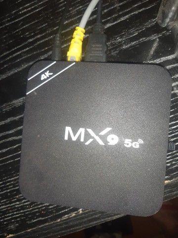 Tv box mx9 5g troco por chromecast
