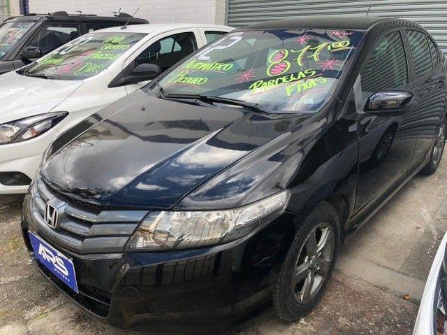 Honda City 2012 Completo + GNV Entr.48x 877,00