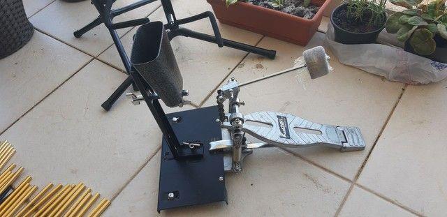 Cowbell + suporte de pé Maxtone  - Foto 5