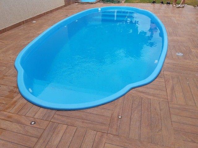 piscinas em fibra (casco) - Foto 5