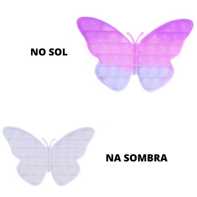 Novidade quebra-cabeça mudança de cor no sol brinquedos sensoriais - Foto 2
