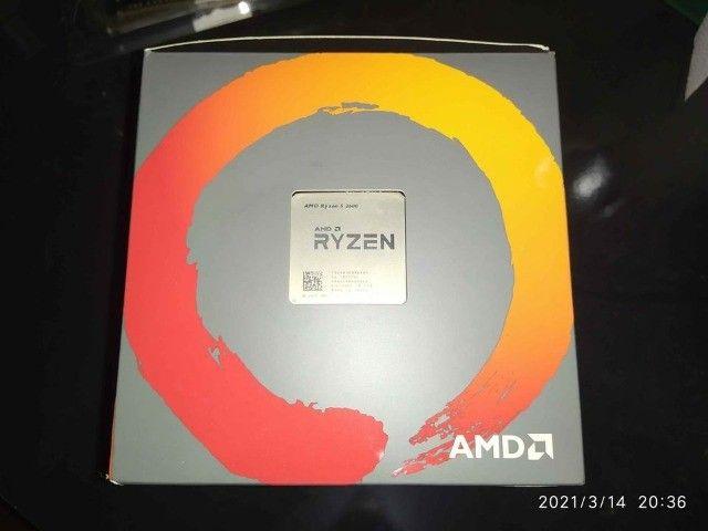 Super PC Ryzen 5 2600 RX 570 Aorus 16gb SSD 256gb - Foto 5