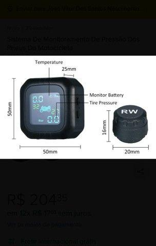Sistema De Monitoramento De Pressão Dos Pneus Da Motocicleta - Foto 4