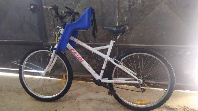 Bicicleta caloi feminina  - Foto 3
