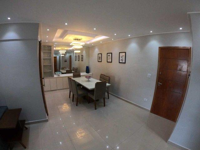 Apartamento à venda com 3 dormitórios em Aviação, Praia grande cod:6154 - Foto 8