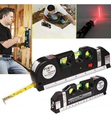 NOVO! Nível a Laser Profissional com Trena - Foto 5