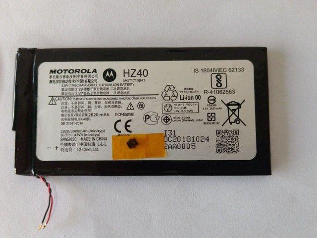 Bateria Motorola original para celular Moto Z2 play - Foto 4