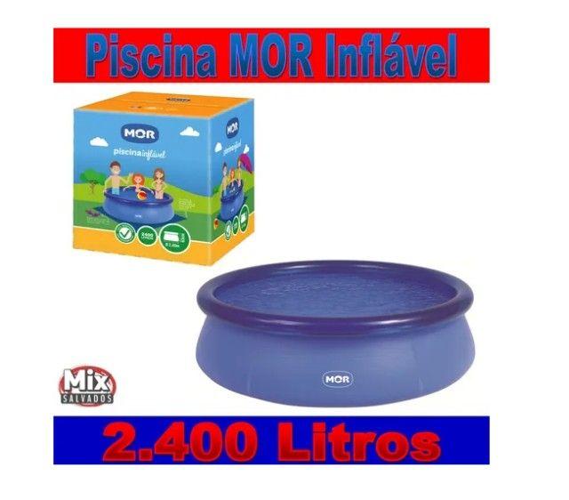 Piscina 2400 litros Piscina Mor Piscina Adulto Piscina infantil Aceito Cartão