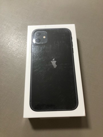 iPhone 11 128gb Preto - LACRADO/NOVO