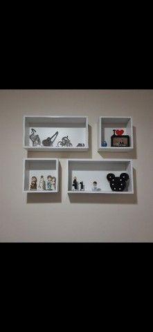 Kit nichos + prateleiras para livros + brinde - Foto 2