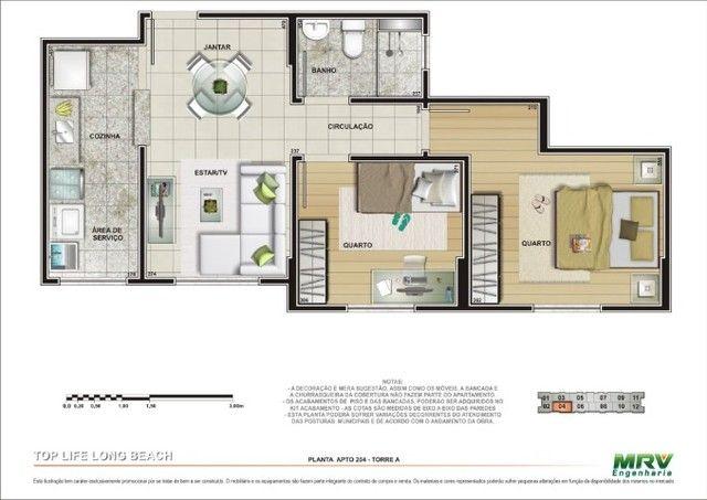 Apartamento 2 quartos - Long Beach - Top Life - Taguatinga