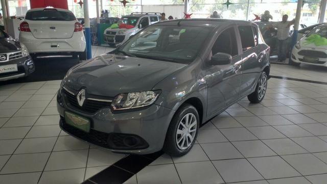 Renault Sandero expression 1.0/ com midianav/ completo/ 2017