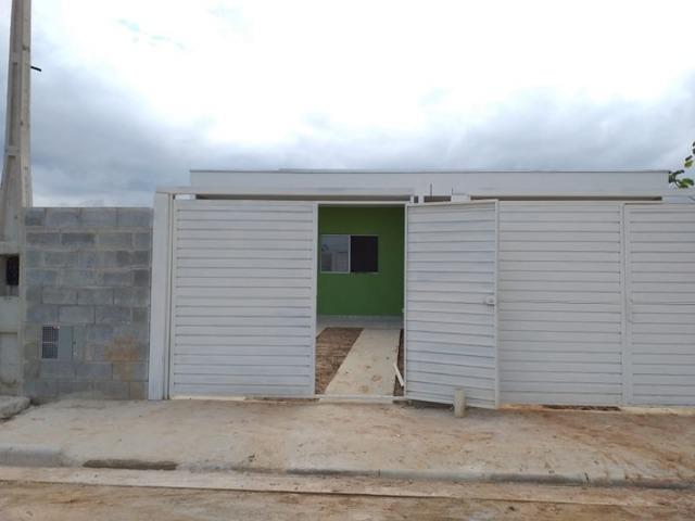Vende || Casa Nova no Golfinhos || 02 dormitórios || Preço Especial || 190 mil - Foto 3